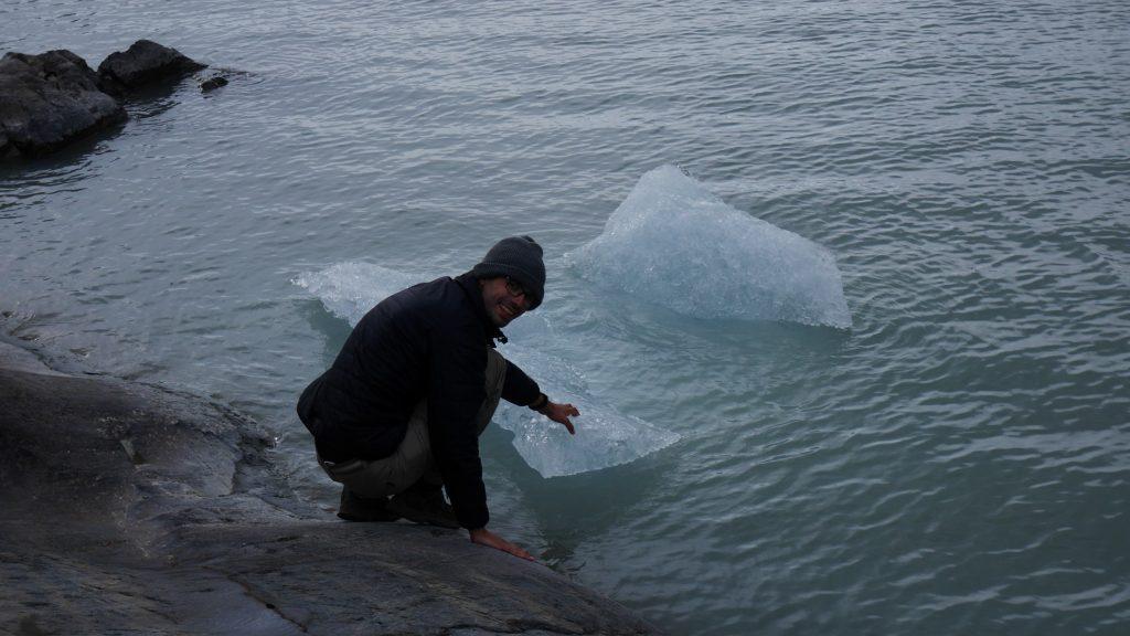 Thomas pêche un iceberg
