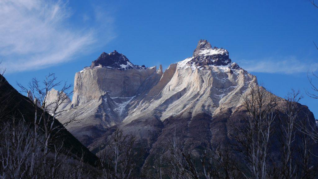 Détail de la montagne