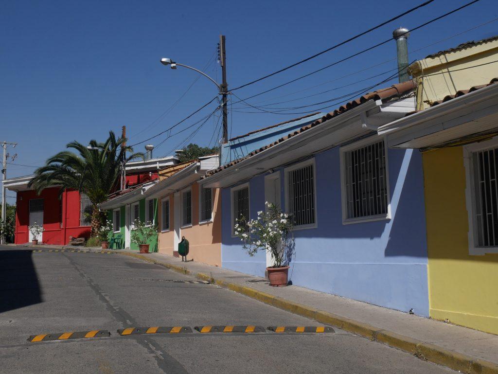 Près de la maison de Pablo Neruda