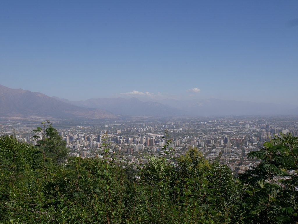 Vue depuis le cerro Cristobal