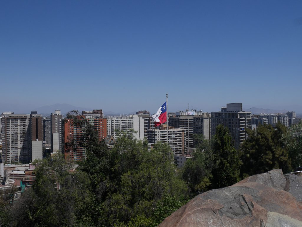 Vue depuis le cerro Santa Lucia
