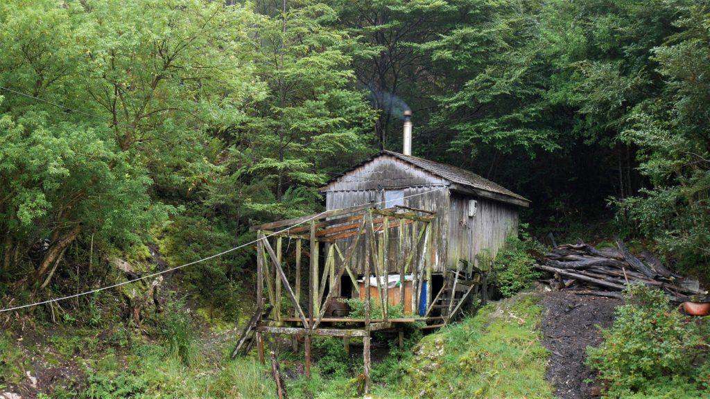 Une mini maison, habitée