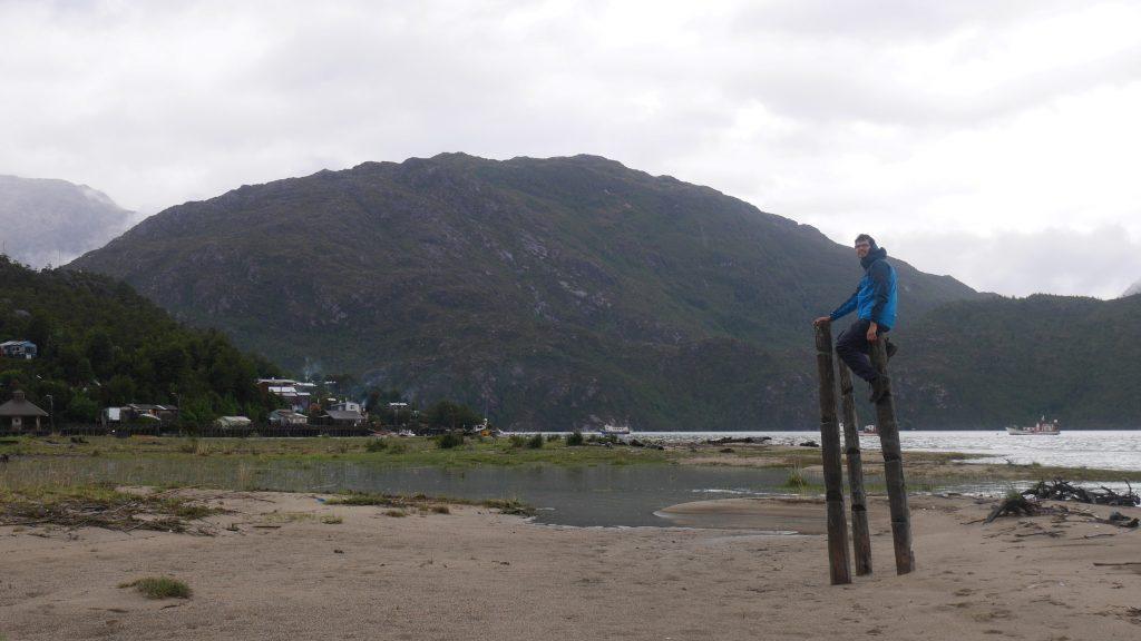 Prise de hauteur sur la plage