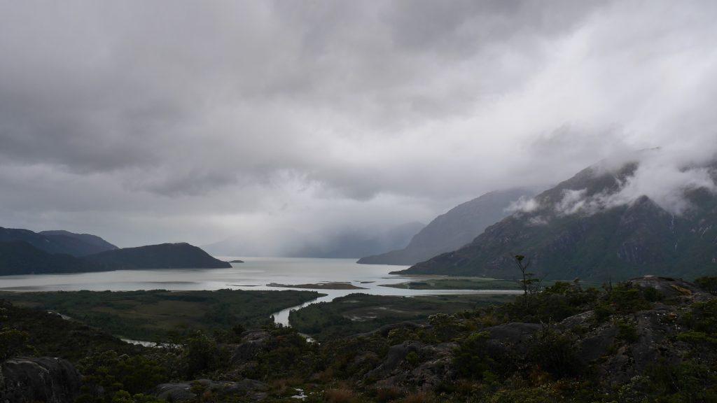 Vue sur le fjord depuis le mirador