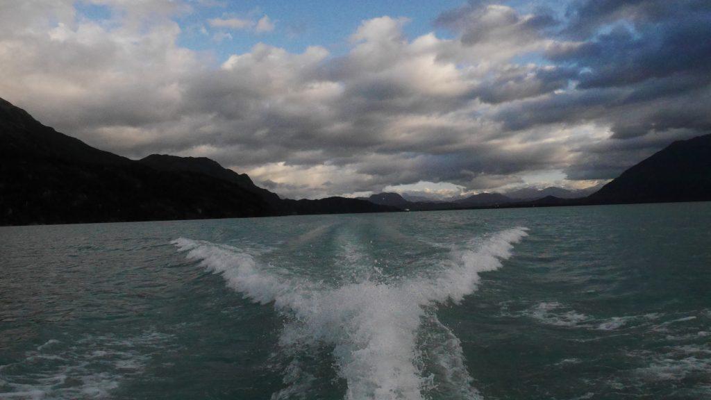 Depuis le ferry
