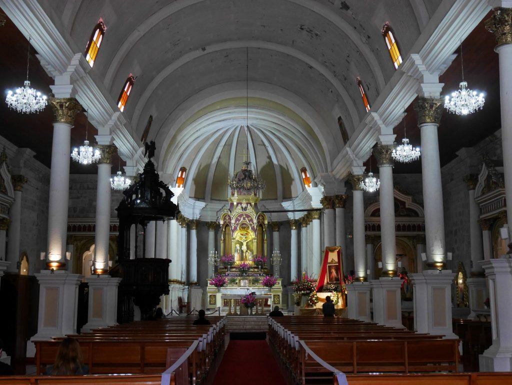 Intérieur de l'église Saint Augustin