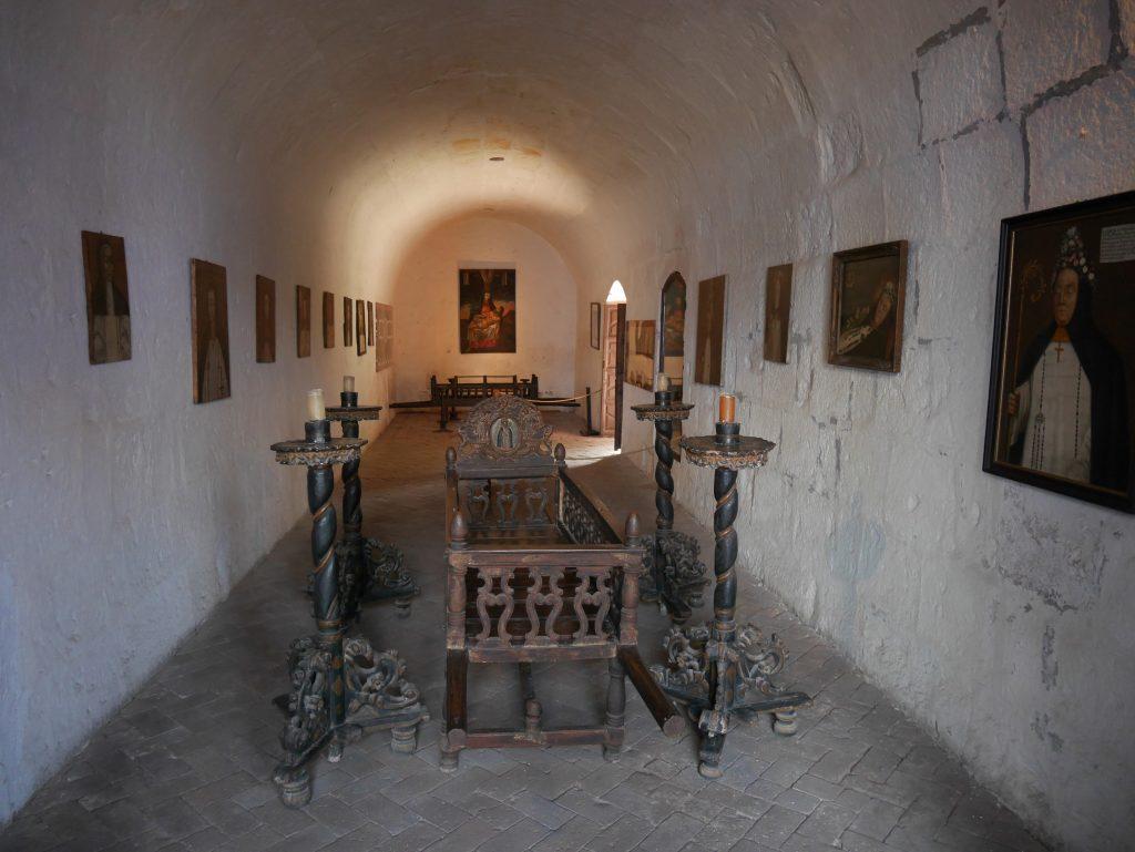 La salle de veillée funêbre