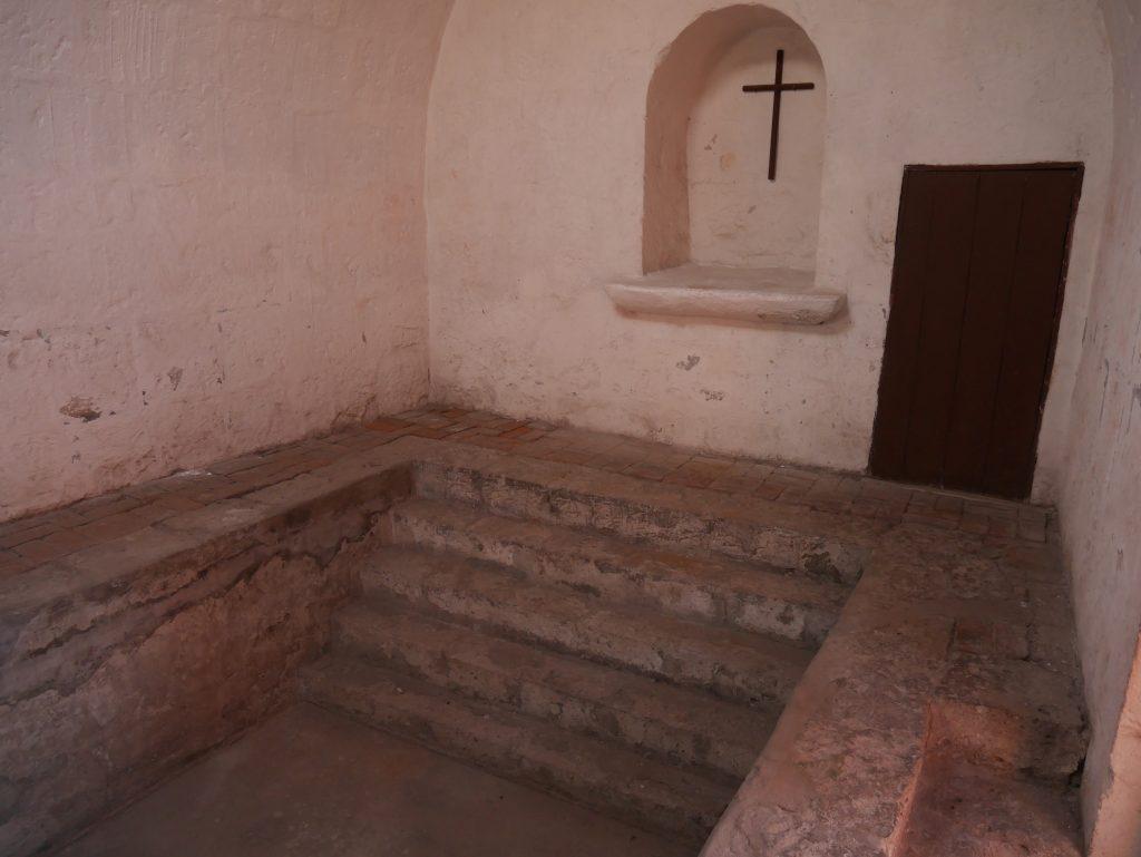 Le bain du monastère