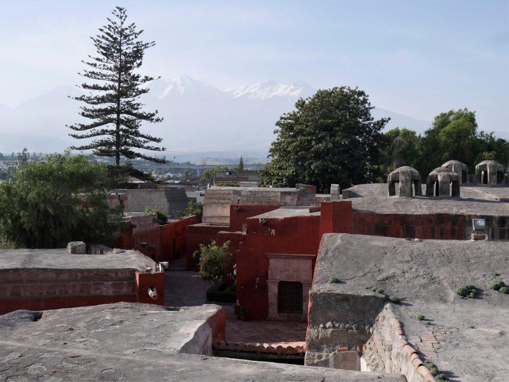 Depuis le toit du monastère