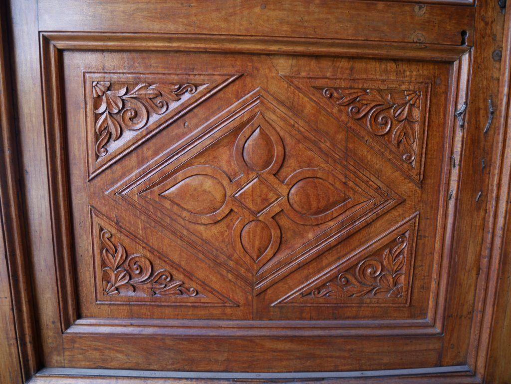 Détail de la porte de la cathédrale