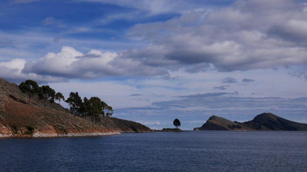 Vers l'île