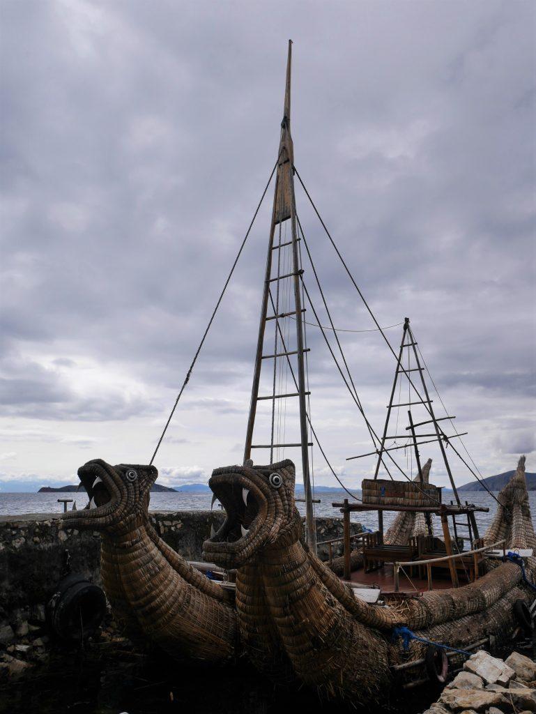 Un des bateaux typiques
