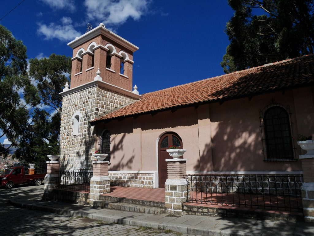 L'église du parc Monticulo