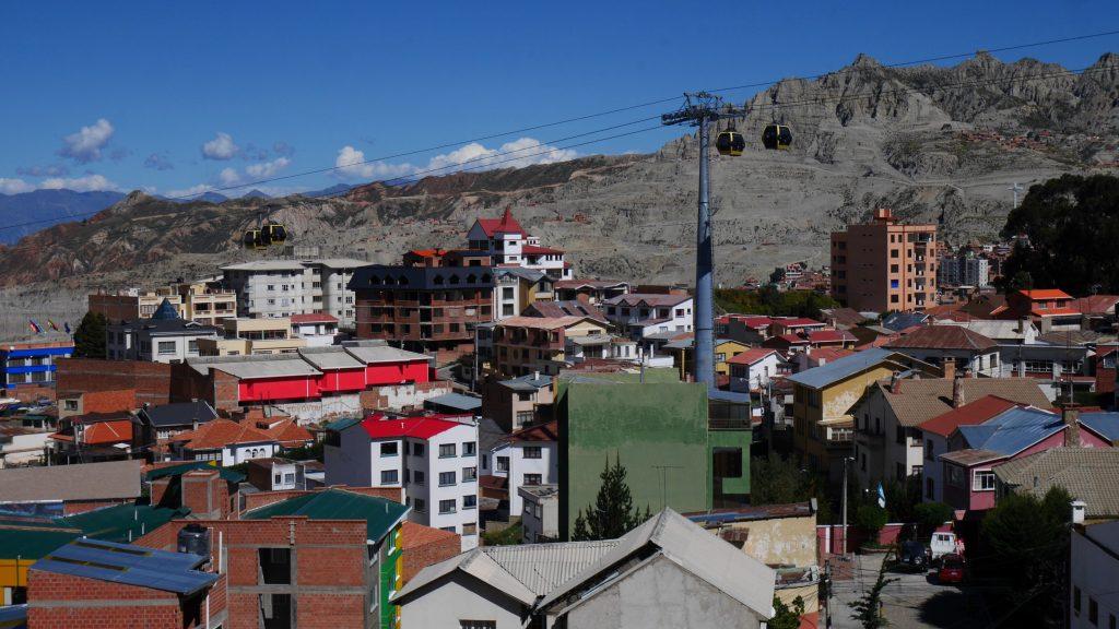 Vue sur les toits de La Paz