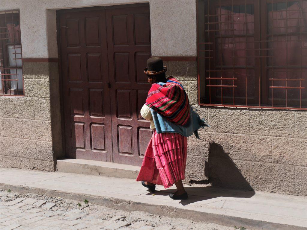 Une bolivienne typique
