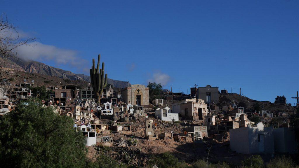 Le cimetière de Maimara
