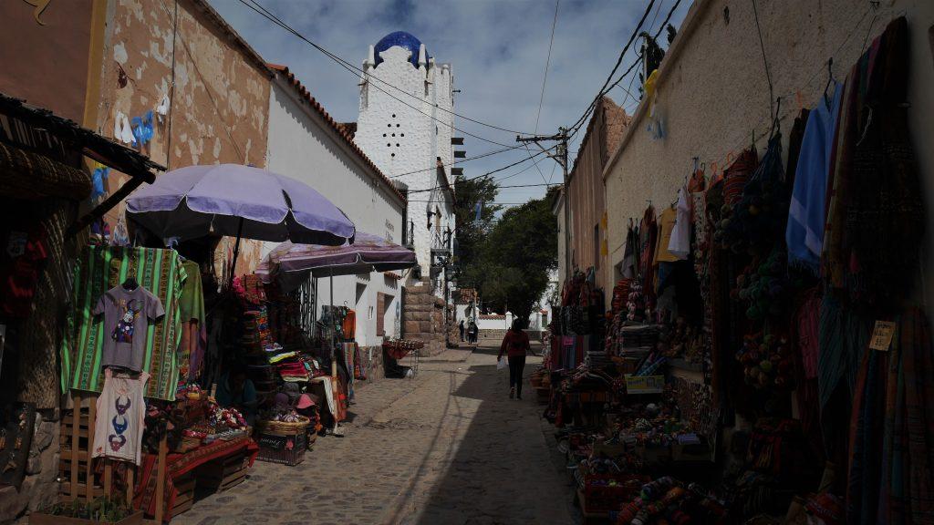 Humahuarca et ses boutiques touristiques