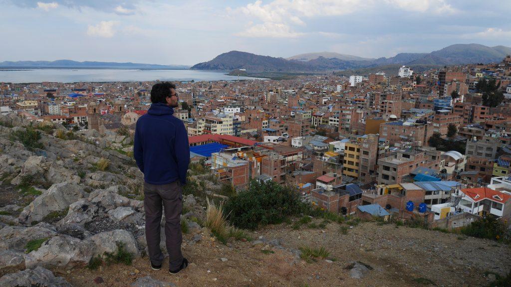 En surplomb de Puno