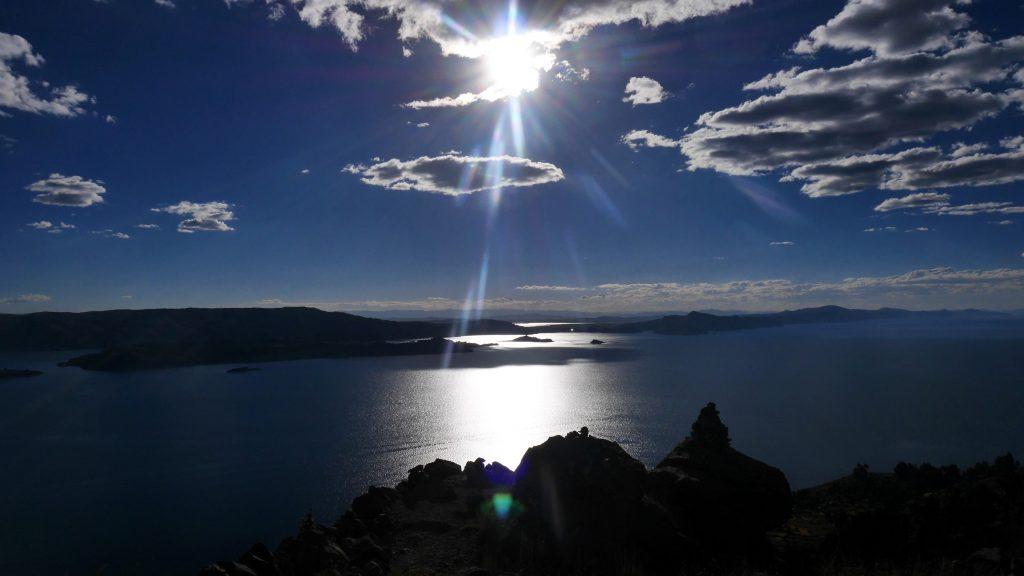 Coucher de soleil sur la presqu'île