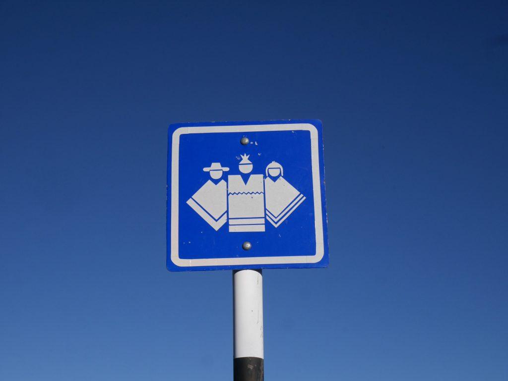 Un panneau inconnu au code de la route