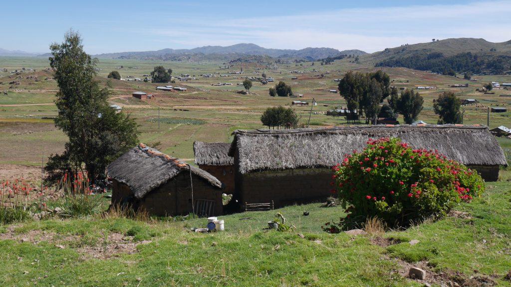Sur la route de Capachica
