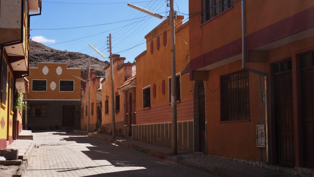 Une des rues de Tupiza