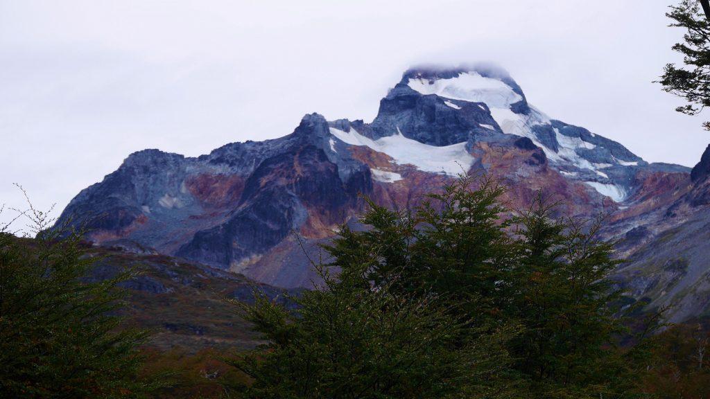 Même la montagne offre un beau dégradé de couleurs