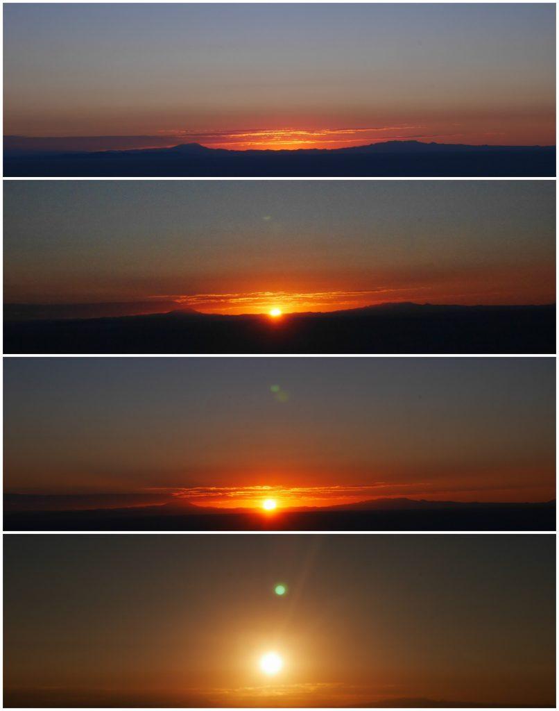 Et voilà, le soleil est levé