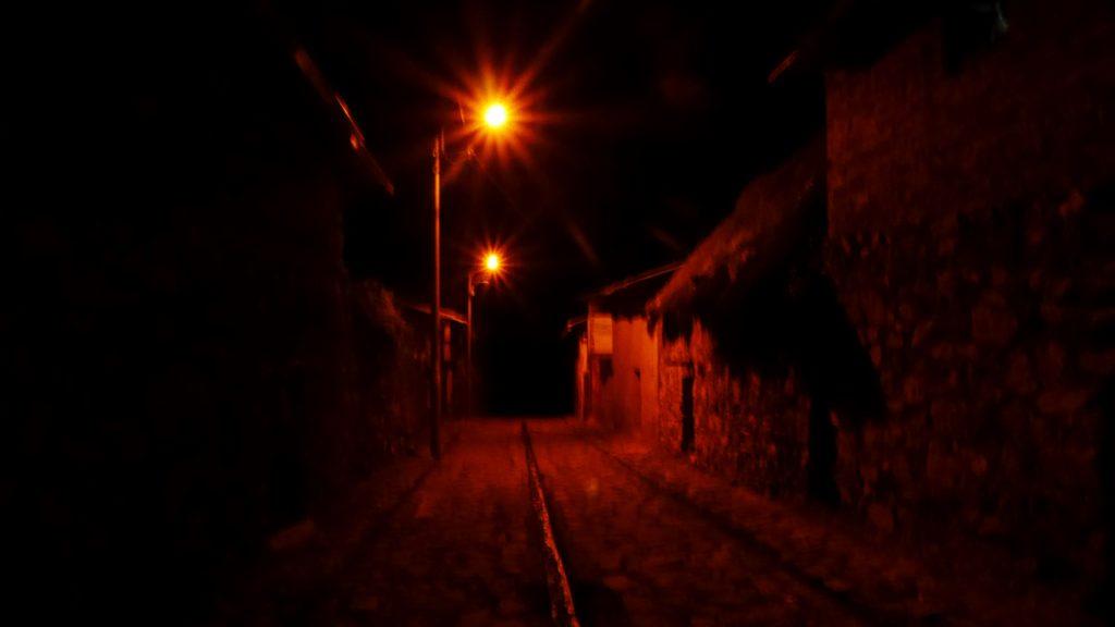 La rue de notre auberge