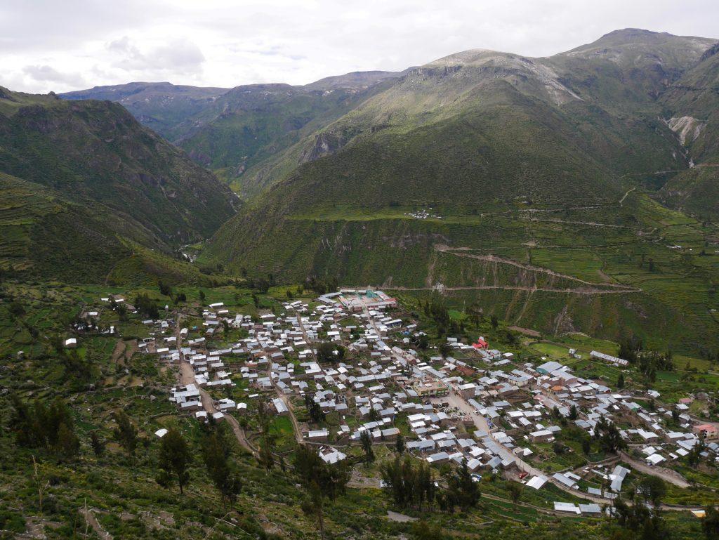 Vue sur Puyca