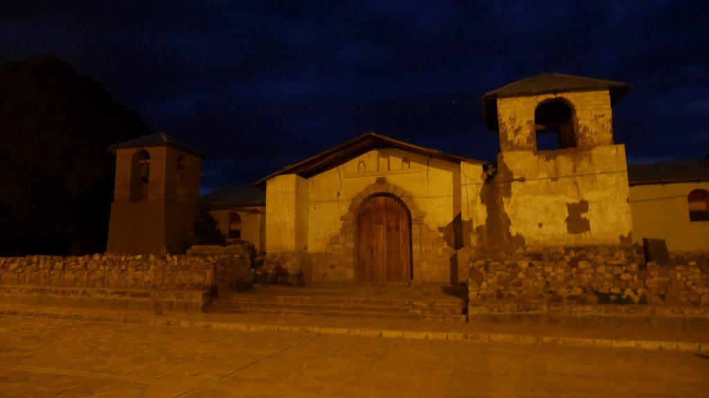 L'église de Charcana
