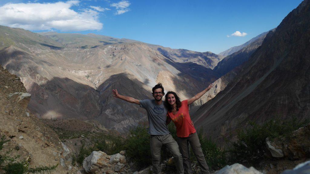 On est quand même bien content de voir ce magnifique canyon