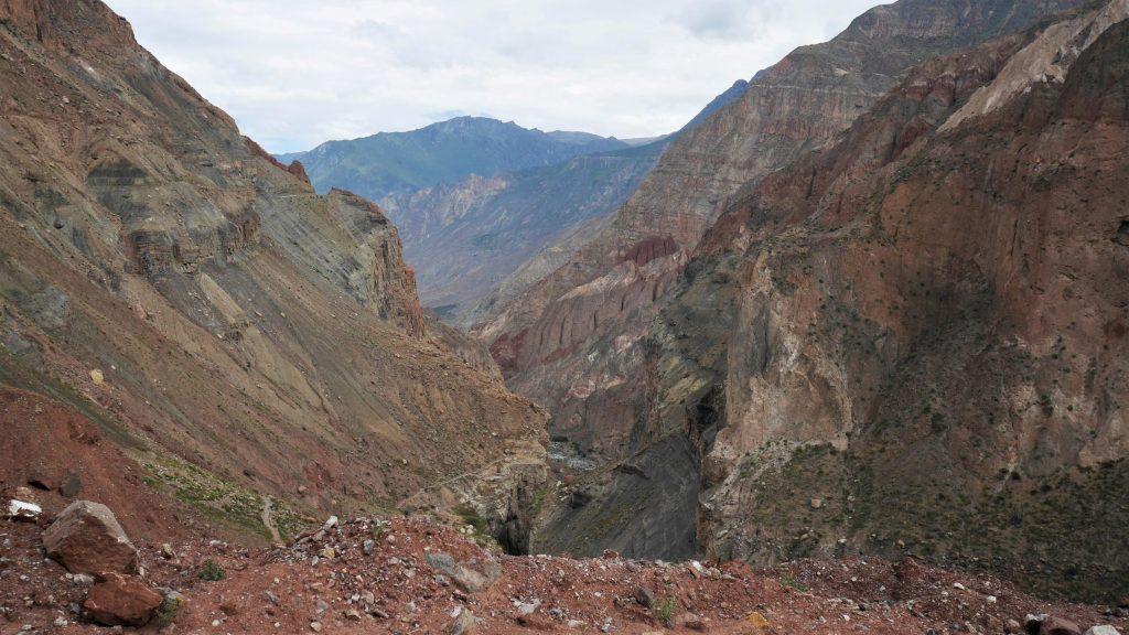 Derniers aperçus du canyon