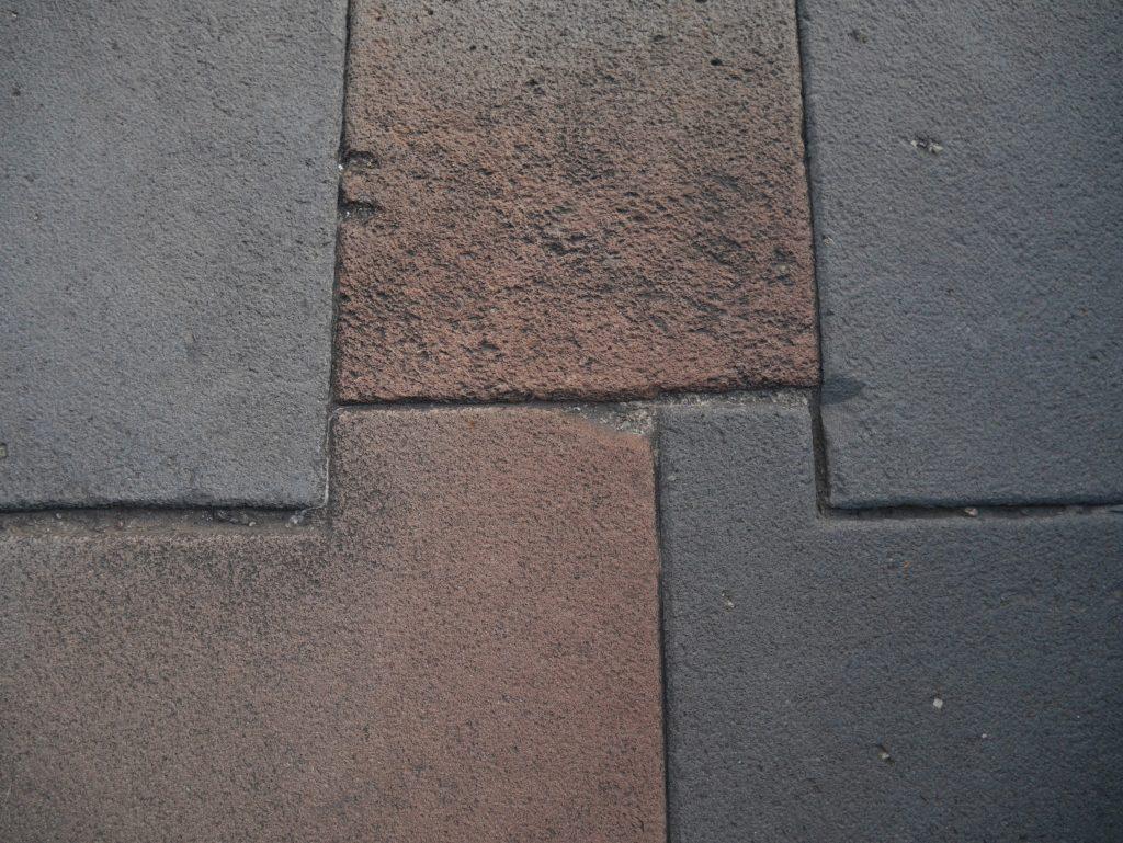 Agencement des blocs de pierre