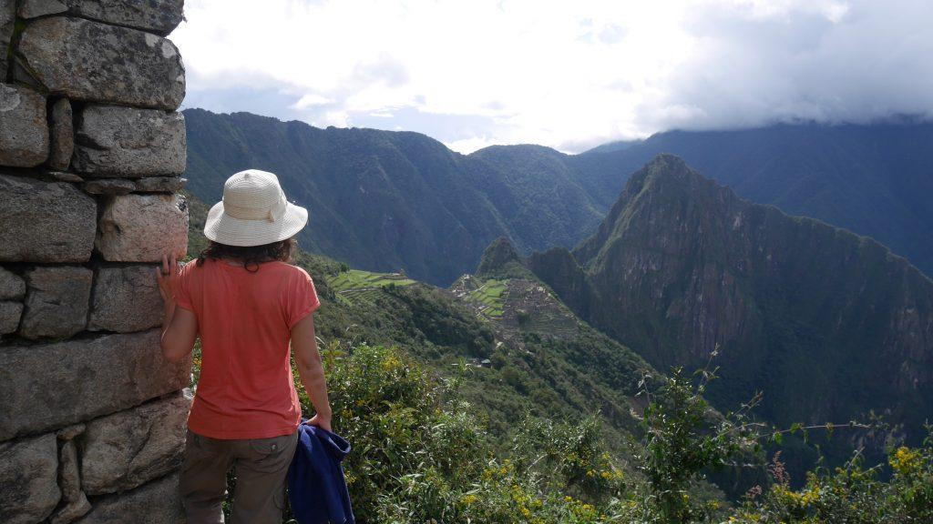 Vue sur le Machu Picchu