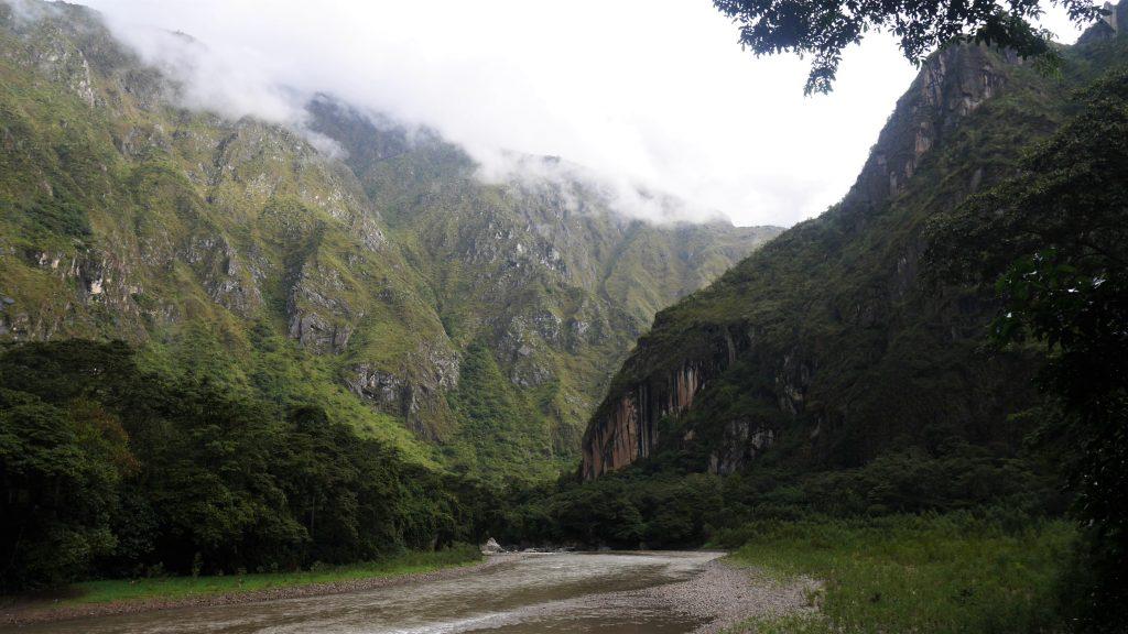 La vallée du Machu Picchu