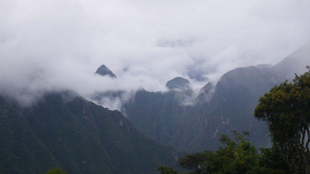 Là-bas, c'est le Machu Picchu !